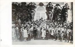 Russie - Famille Romanov Et Officiels, Militaires, Dignitaires (carte Photo) - Russie
