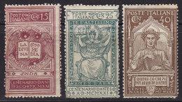 1839. Italy, 1921, MH (*) - 1900-44 Victor Emmanuel III