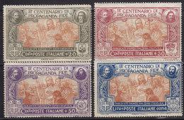 1845. Italy, 1923, MH (*) - 1900-44 Victor Emmanuel III