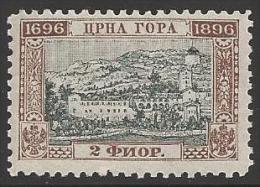 1896 2fl Bicentennary, Mint Never Hinged - Montenegro