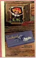 Reklame Werbeanzeige  ,  Suchard Milka  -  Weltberühmt, Weil Sie So Gut Ist  ,  Von 1965 - Schokolade