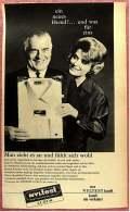 Reklame Werbeanzeige  -  Nylon NYLTEST  -  Ein Neues Hemd?....und Was Für Eins  -  Von 1965 - Herr