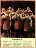 Reklame Werbeanzeige  -  König-Pilsener  -  Die König-Treuen Sind Eitel  -  Von 1965 - Alkohol