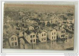 DAYTON-OHIO-1913-the Great Flood Of March 1913-écrite-inondations - Dayton