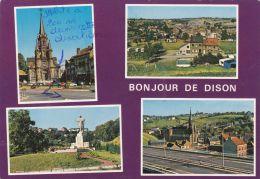Cp , BELGIQUE , DISON , Bonjour De Dison , Multi-Vues - Dison