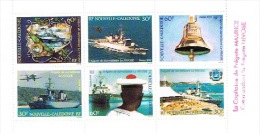 Nouvelle Caledonie Planche Carnet YT C668 Cote 55 E Fregate Nivose Surveillance Martine Nationale UNC Extrait 1994 - Nouvelle-Calédonie