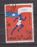 D0133 - SOMALIE SOMALIA AERIENNE Yv N°6 OLYMPIADES - Somalie (1960-...)