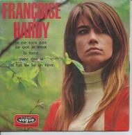 """45 Tours EP - FRANCOISE HARDY -  VOGUE 8635 - """" JE NE SAIS PAS CE QUE JE VEUX """" + 3 ( Avec Rabat ) - Dischi In Vinile"""