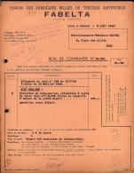 Obourg - Union Des Fabriques Belges De Textiles Artificiels - FABELTA S.A. - 1948 - 1900 – 1949