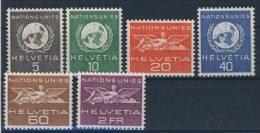 Schweiz �mter UNO Michel No. 22 - 27 ** postfrisch