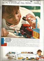 Publicité Papier 1984 - Lego, Legoland Moyen Age / Le Roi Arrive / Chevaux, Chevaliers, Château-fort - Lego