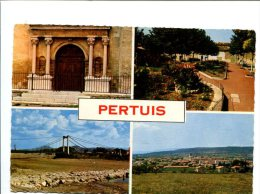 CP - PERTUIS (84) Carte Souvenirs - Pertuis