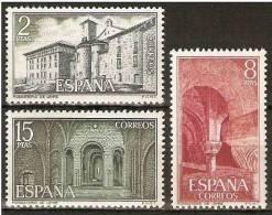 ESPAÑA 1974  MONASTERIO DE LEYRE Edifil Nº 2229-2231 - YVERT 1863-1865 - 1931-Aujourd'hui: II. République - ....Juan Carlos I