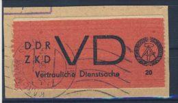 DDR Dienst Gruppe D Nr. 1 C gestempelt used