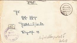 Feldpost WW2: Stellv. Gen. Kdo. II. AK Dtd 8.12.1944 - Letter Inside (G35-18) - Militaria