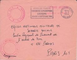 1966  -  ENVELOPPE FRANCHISE POSTALE DE LA 6° BRIGADE MECANISEE De STRASBOURG ( BAS-RHIN ) - Marcophilie (Lettres)