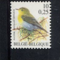 229028234 BELGIE  POSTFRIS MINT NEVER HINGED POSTFRISCH EINWANDFREI OCB 2936 - 1985-.. Birds (Buzin)