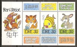 AÑO NUEVO - IRLANDA 1999 - Yvert #1115/17 - MNH ** - Chinees Nieuwjaar