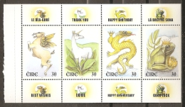 IRLANDA 2000 - Yvert #C1216a - MNH ** - Hojas Y Bloques