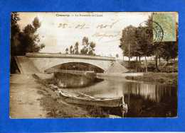 55 COMMERCY LA PASSERELLE DU CANAL - Commercy