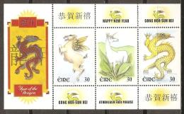 AÑO NUEVO - IRLANDA 2000 - Yvert #1217/19 - MNH ** - Chinees Nieuwjaar