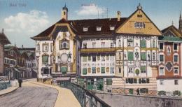 CPA BAD TOLZ- HOTEL, BRIDGE - Bad Toelz