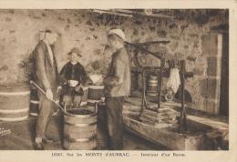 Monts D'Aubrac, Buron, Interieur, 10367 - Cartes Postales