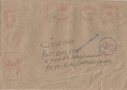 Zimbabwe 2002 Causeway Hasler Mailmaster HAS 90 Meter Franking Underfranked Cover For Transmission By Air Mail - Zimbabwe (1980-...)