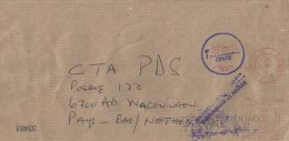 Zimbabwe 2002 Causeway Neopost Electronic NE 29 Meter Franking Underfranked Cover For Transmission By Air Mail - Zimbabwe (1980-...)