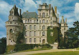 Cp , 49 , BRISSAC , Le Château Construit Par Charles De Cossé Duc De Brissac, Maréchal De France - France