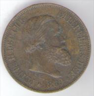 BRASILE 2 REIS 1869 - Brasile