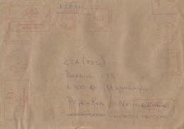 Zimbabwe 2002 Causeway Hasler Mailmaster HAS90 Meter Franking Cover - Zimbabwe (1980-...)