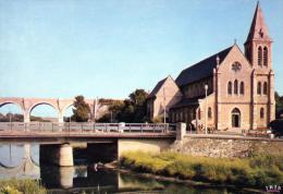 (D)   62.  Wmereux  L'eglise  Et Le Viaduc - France