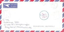 Zimbabwe 20001 Bulawayo Pitney Bowes GB 6300 PB C405 Meter Franking Underfranked Cover - Zimbabwe (1980-...)