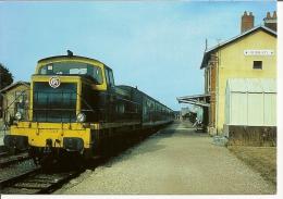 Aubigny Sur Nère (18) Ligne Beaune La Rolande - Bourges Le Train à Bray N° 16 - Aubigny Sur Nere