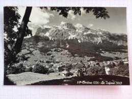 Cortina Le Tofane Dolomiti - FP - VIAGGIATA    *(ven2081) - Belluno
