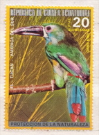 Equatorial Guinea CTO Stamp - Oiseaux