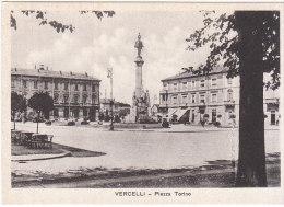 CARTOLINA NUOVA  VERCELLI - PIAZZA TORINO - Vercelli