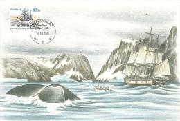 Carte  Groenland  , Peche à La Balaine 2004   (441) - Groenland