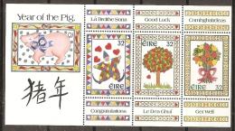 AÑO NUEVO - IRLANDA 1995 - Yvert #885/88 - MNH ** - Chinees Nieuwjaar