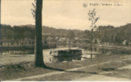 -ROUILLON,ANNEVOIE-La Meuse,bateau Mouche Plein+ Publicté COLLEGE SAINT-PAUL à Godinne - Bélgica