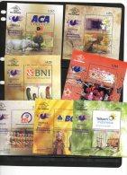 INDONESIA, 2012, MNH,7 SHEETLETS,PHILATELIC EXHIBITION, RHINOS, COMODO DRAGONS,FLORA, DANCERS, , BEAUTIFUL - Reptiles & Anfibios