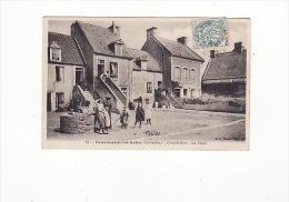 Carte 1907 GRANDCAMP LES BAINS / GRANDE RUE ET LA POSTE - Other Municipalities