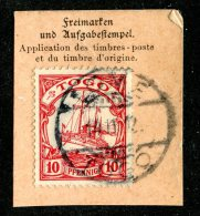 (1399)  Togo 1900  Mi.9  Used Catalogue  € 2.00 - Colonie: Togo