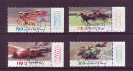 Germania 1999 - Sport, 4v. Annullo Leggero E Rotondo - [7] Repubblica Federale