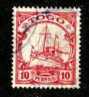 (1402)  Togo 1900  Mi.9  Used Catalogue  € 2.00 - Colony: Togo