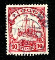 (1404)  Togo 1900  Mi.9  Used Catalogue  € 2.00 - Colony: Togo