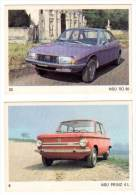 2 Cartes Americana Munich, Automobiles : NSU Prinz / RO 80 - Autres Collections