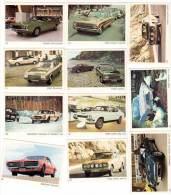 11 Cartes Americana Munich, Automobiles :  Chevrolet, Dodge, Mercury, Ford Capri, Escort, ... - Autres Collections