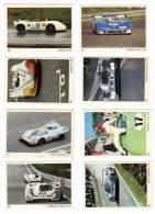 8 Cartes Americana Munich, Automobiles De Course :  Porsche Gulf, 908, 917, Can Am, ... - Autres Collections